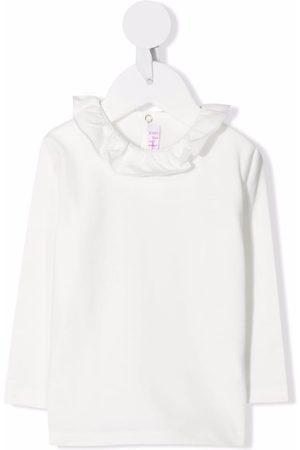 Il gufo Baby Blouses - Long-sleeve ruffled top