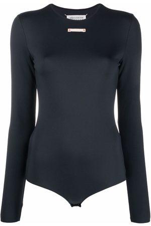 Maison Margiela Dames Bodysuits - Long-sleeve fitted bodysuit