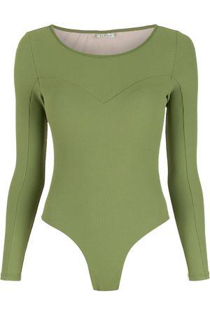 AMIR SLAMA Dames Bodysuits - Long sleeves bodysuit