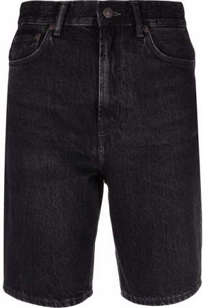 Acne Studios Dames Shorts - High-waisted denim shorts