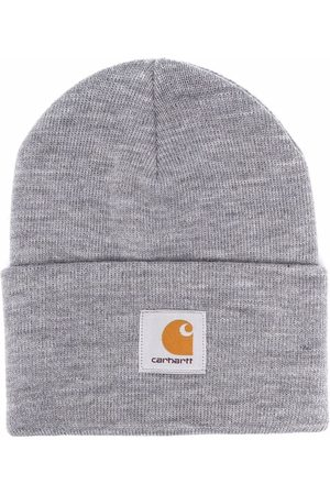 Carhartt Logo patch knitted beanie