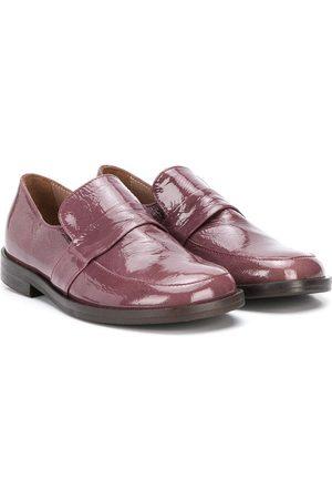 PèPè Patent slip-on shoes