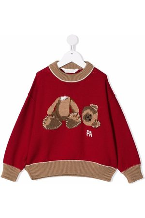 Palm Angels PALM ANGELS BEAR SWEATHER BROWN