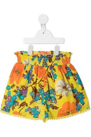 ZIMMERMANN Floral-print cotton shorts
