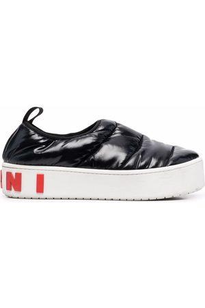 Marni Dames Platform - Padded platform sneakers