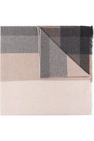 Brunello Cucinelli Heren Sjaals - Check print scarf