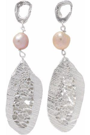 Lee Sophis pearl earrings
