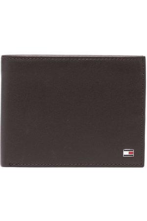 Tommy Hilfiger Heren Portefeuilles - Logo-patch leather wallet