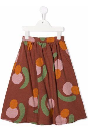 Bobo Choses Meisjes Geprinte rokken - Abstract pattern-print pleated skirt
