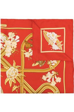 Hermès 1990s pre-owned Caraibes silk scarf