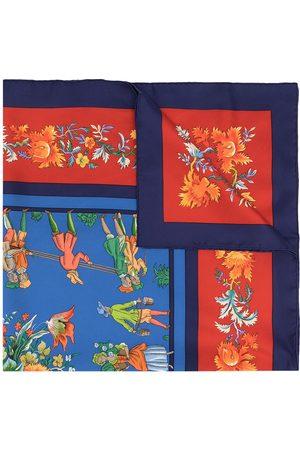 Hermès 1990s pre-owned Les Jardiniers du Roy silk scarf