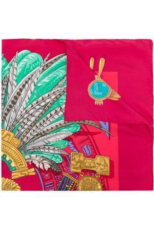 Hermès 1990s pre-owned Mexique scarf