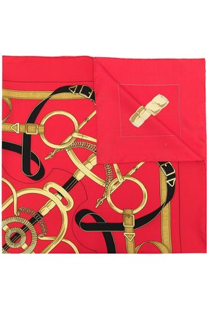 Hermès 1990s pre-owned Eperon D'Or silk scarf