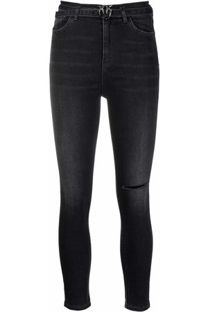 Pinko Dames High waisted - High-rise skinny jeans