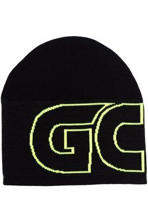 GCDS Logo-print knitted beanie