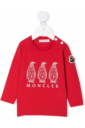 Moncler Sweaters - Graphic-print cotton sweatshirt