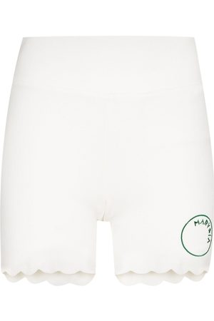 Marysia Billie Jean scalloped running shorts