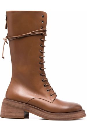 MARSÈLL Knee-length leather boots