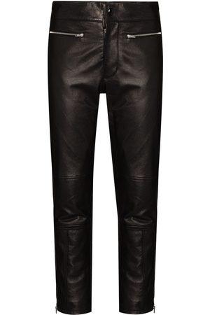 Marni Dames Capri's - Cropped zip-cuff trousers