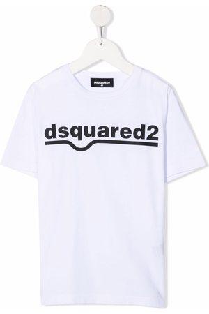 Dsquared2 Jongens T-shirts - Logo crew-neck T-shirt