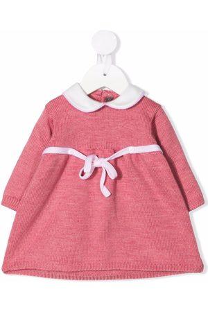 LITTLE BEAR Front-tied knit dress