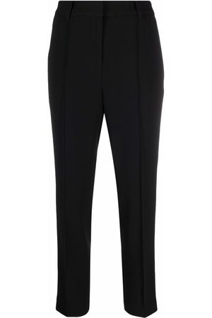 Michael Kors Dames Capri's - Pleated cropped trousers