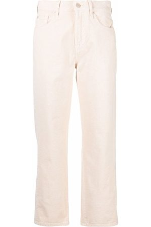 7 for all Mankind Dames Broeken - Cropped straight-leg trousers