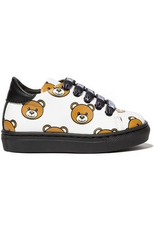 Moschino All over teddy bear sneakers