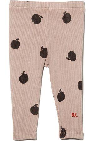 Bobo Choses Baby Leggings - Apple pattern leggings