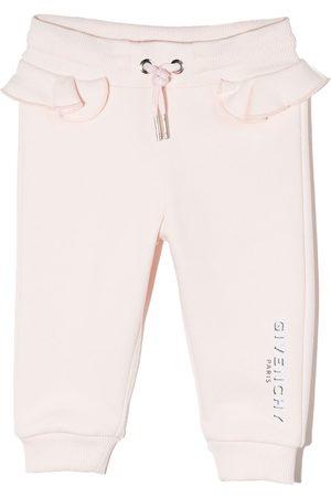Givenchy Joggingbroeken - Logo-print tapered track pants