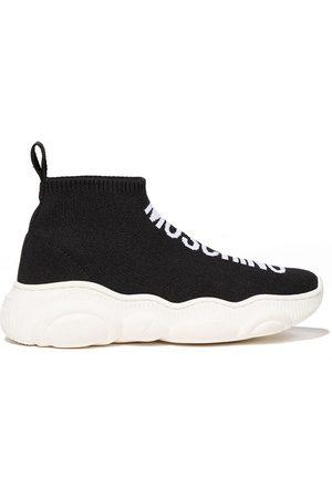 Moschino Logo-print sock-style sneakers