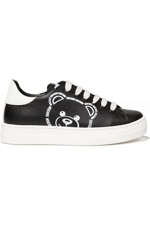Moschino Teddy logo low-top sneakers