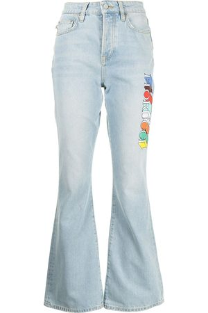 Fiorucci Brooke logo-print jeans