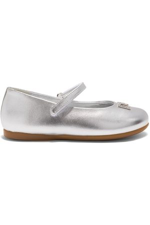 Dolce & Gabbana DG crystal-embellished ballerina shoes
