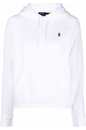 Polo Ralph Lauren Dames Pullovers - Embroidered-logo pullover hoodie