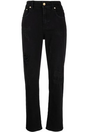 Dolce & Gabbana Dames Boyfriend - Ripped-detail boyfriend jeans