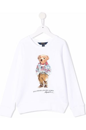 Ralph Lauren Kids Polo Bear-motif sweatshirt