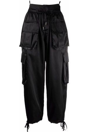 Dolce & Gabbana Dames Cargo's - High-waisted cargo trousers