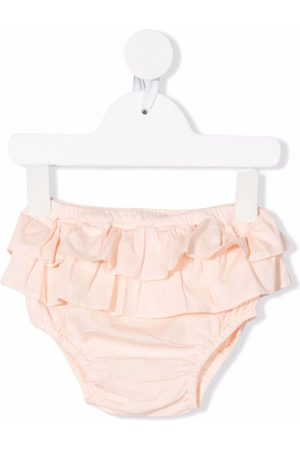 Babe And Tess Shorts - Ruffled cotton bloomers