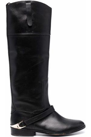 Golden Goose Dames Hoge laarzen - Knee-length leather boots