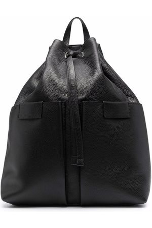 Orciani Pebbled-effect leather backpack
