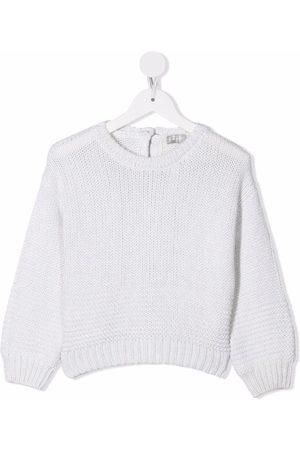 Il gufo Meisjes Truien - Rib-trimmed knitted jumper
