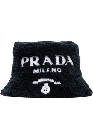 Prada Sponge logo bucket hat