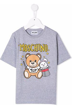 Moschino Meisjes T-shirts - Teddy bear-motif cotton T-shirt
