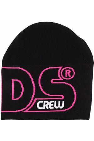 GCDS Logo knit beanie