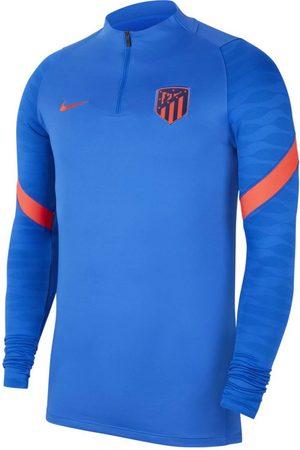 Nike Heren Sweaters - Atletico madrid drill top 2021-2022 hyper cobalt
