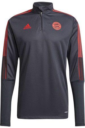 adidas Heren Sweaters - Bayern munchen trainingstop 2021-2022 grey
