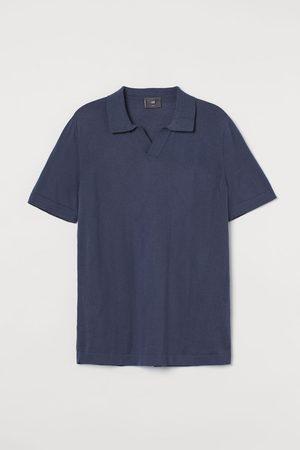 H&M Gebreide polo- Slim Fit