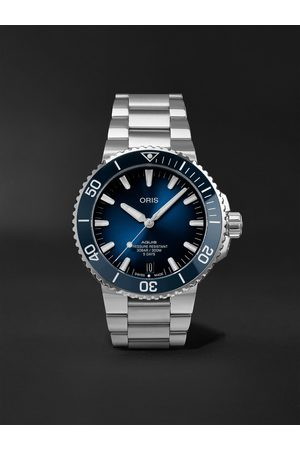Oris Aquis Date Calibre 400 Automatic 43.5mm Stainless Steel Watch, Ref. No. 01 400 7763 4135-07 8 24 09PEB