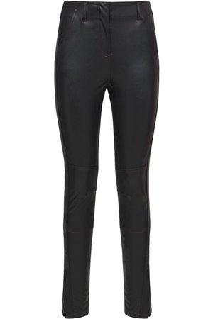KOCHÉ Faux Leather Trousers